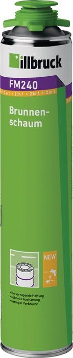 1K-Brunnenschaum FM240 750 ml B2 grün