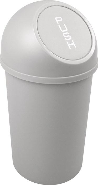 Abfallbehälter H490xØ253mm 13l lichtgrau