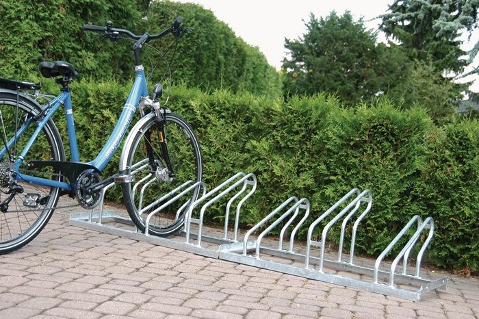 Fahrradbügelparker 1-s.90Grad