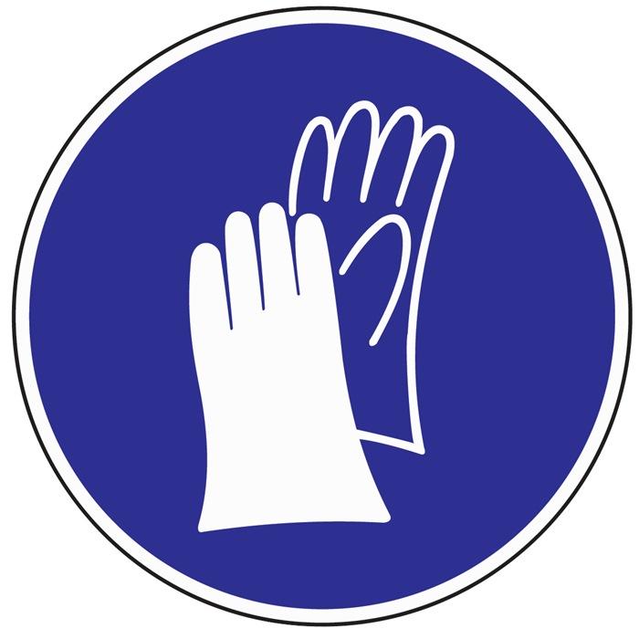Folie Handschutz benutzen D.200mm