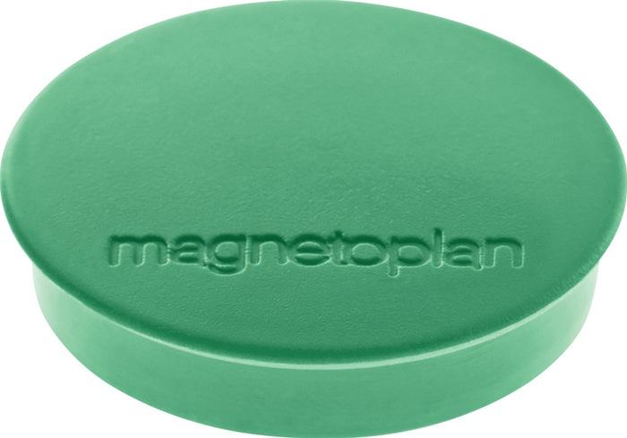 Magnet Basic D.30mm grün MAGNETOPLAN