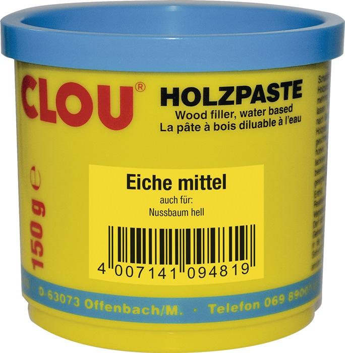 Holzpaste Farbe 08 eiche mittel 150g