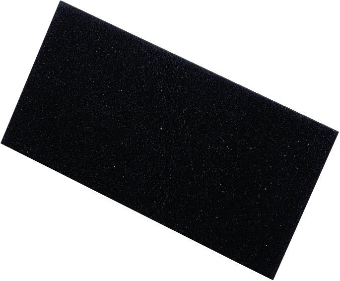 Ersatzbelag schwarz 280x140x8mm