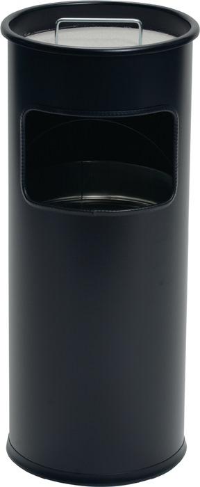 Kombiascher Ø260xH620mm schwarz