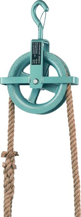 Baurolle Seilraddurchmesser 190mm