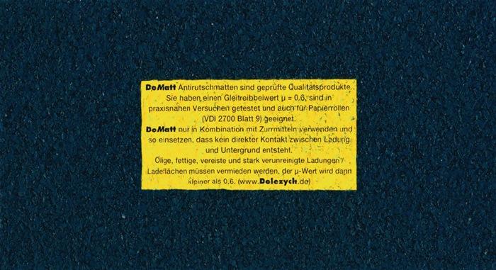 Antirutschmatte L500cm B25cm D8mm
