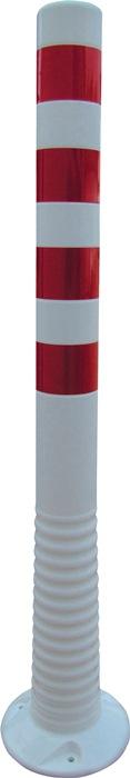 Sperrpfosten Polyurethan weiß/rot D.80mm