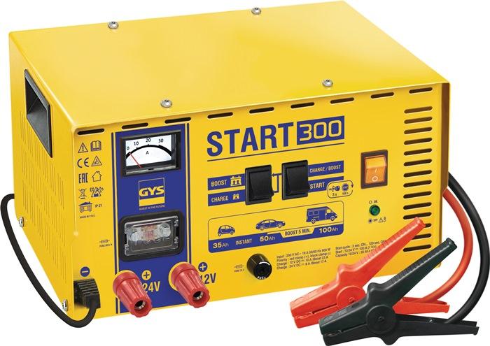 Batterieladegerät START 300 12/24 V