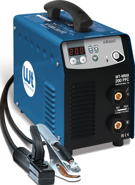 Elektrodenschweißgerät WT-MMA 200 PFC