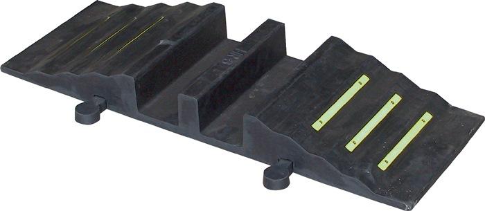 Gummi-Schlauchbrücke L1010xB290xH135mm