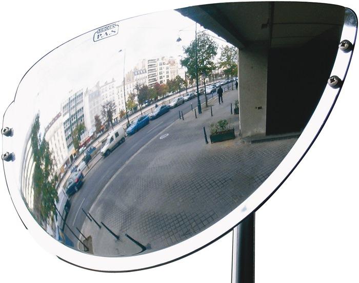 Beobachtungsspiegel H300xB600mm Ku.f.3