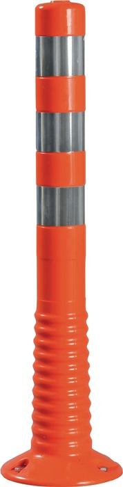 Sperrpfosten Polyurethan orange/weiß