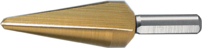 Blechschälbohrer Bohrber.3-14mm HSS TiN