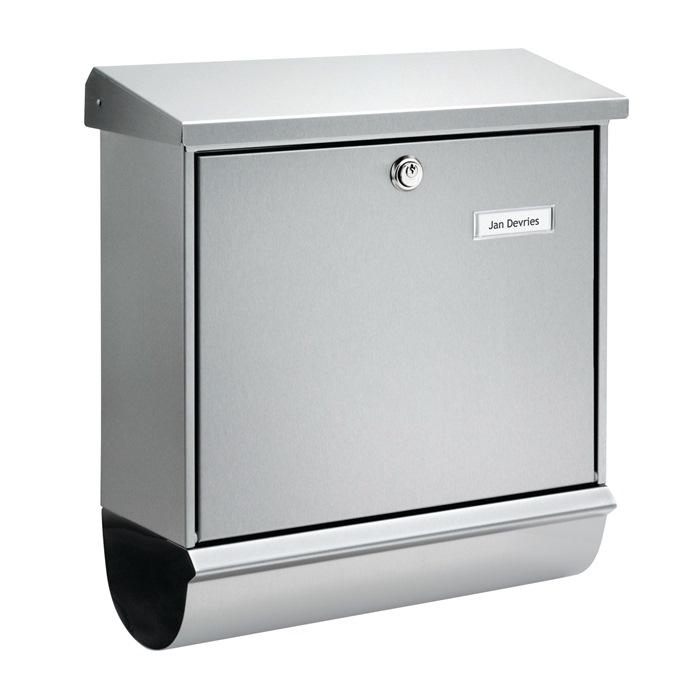 Briefkasten Comfort-Set 39130 Ni H.440mm