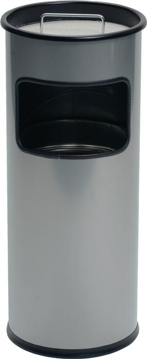 Kombiascher Ø260xH620mm silber