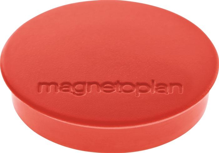 Magnet Basic D.30mm rot MAGNETOPLAN
