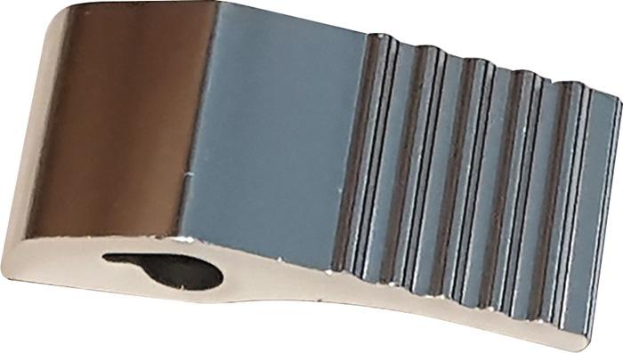Verschlussraster Rohr-D.30mm Metall