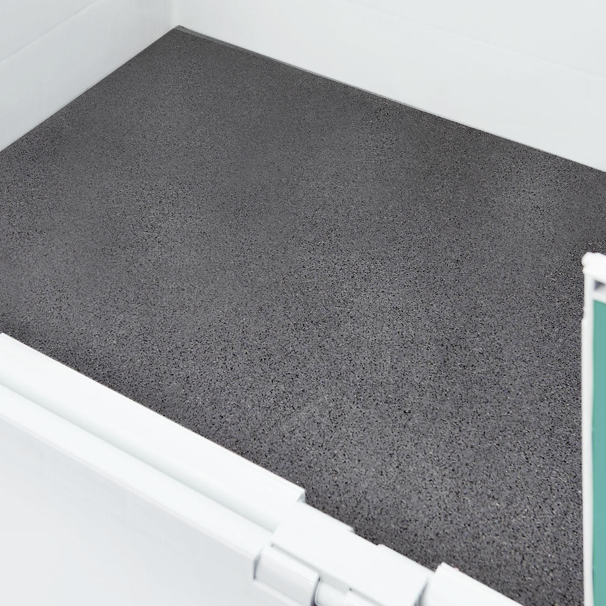Antirutschmatte  720x  520x8                  schwarzmeliert
