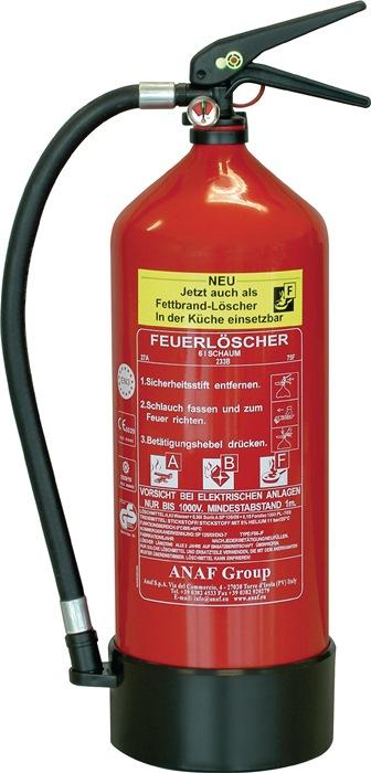 Schaumfeuerlöscher FLS 3460 6l