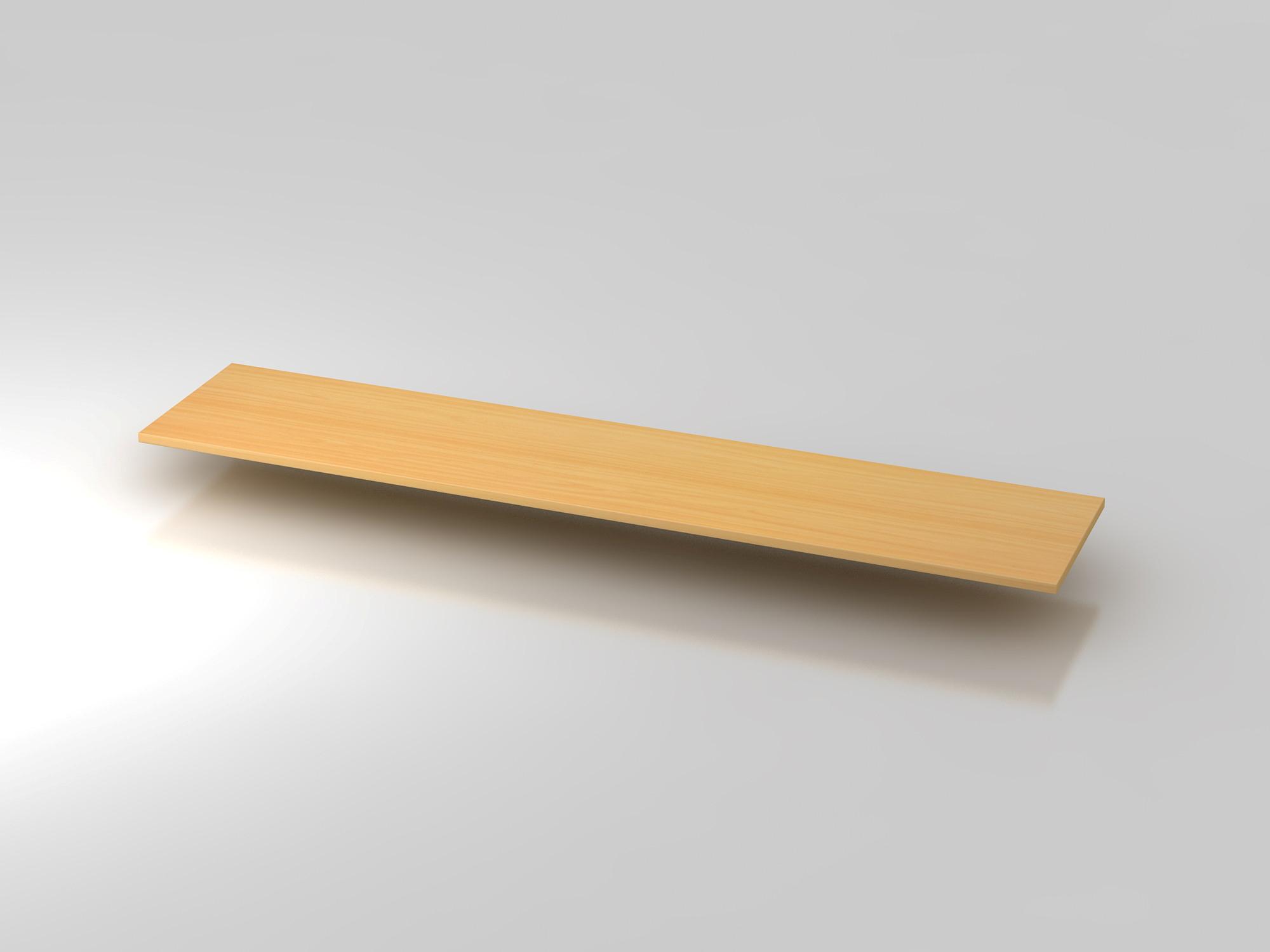Abdeckplatte 200,5x43cm Buche