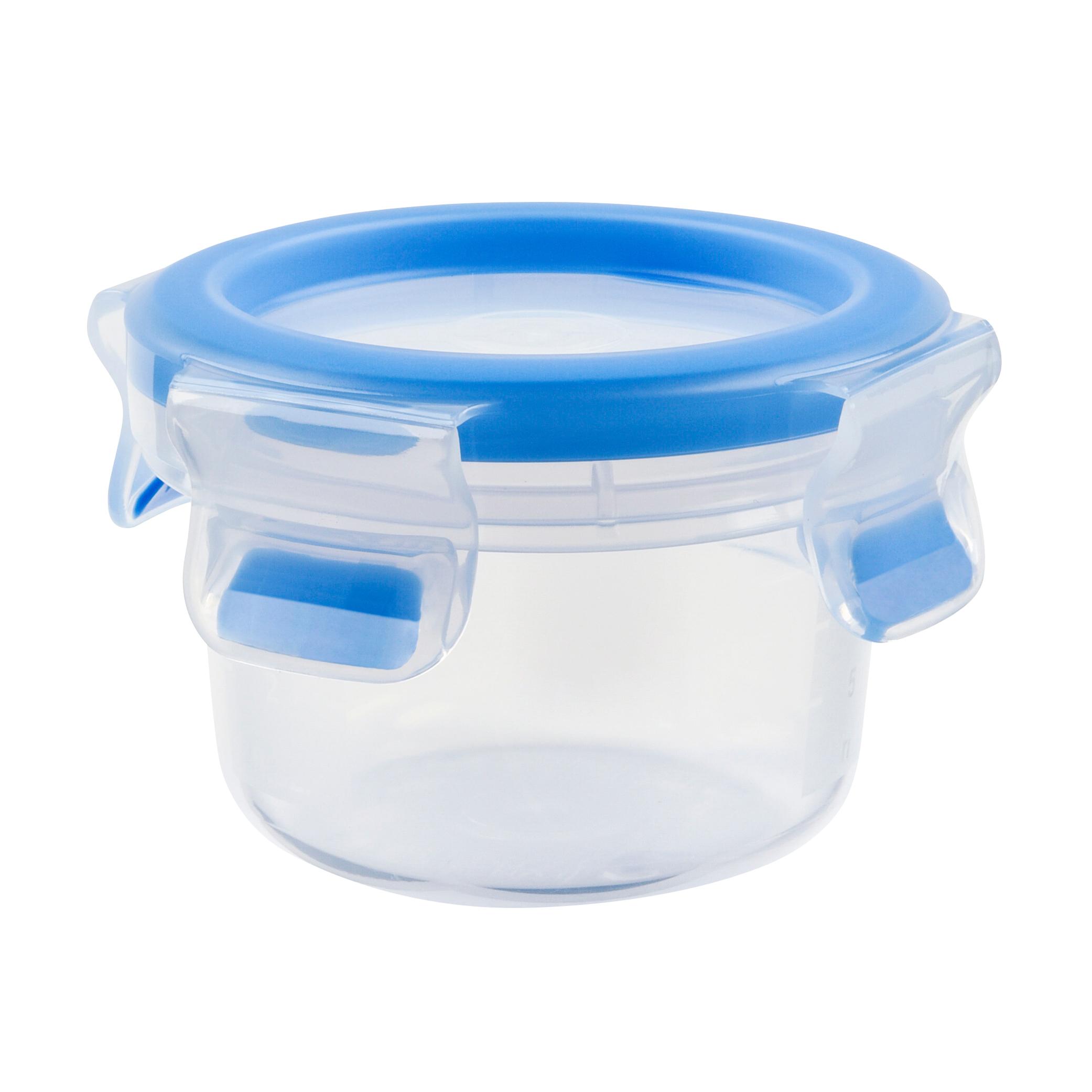 EMSA 508550CLIP & CLOSE Frischhaltedose 0,15 L rund - 100 % dicht - made in Germany - besondere Frische-Dichtung - 100 % hygienisch