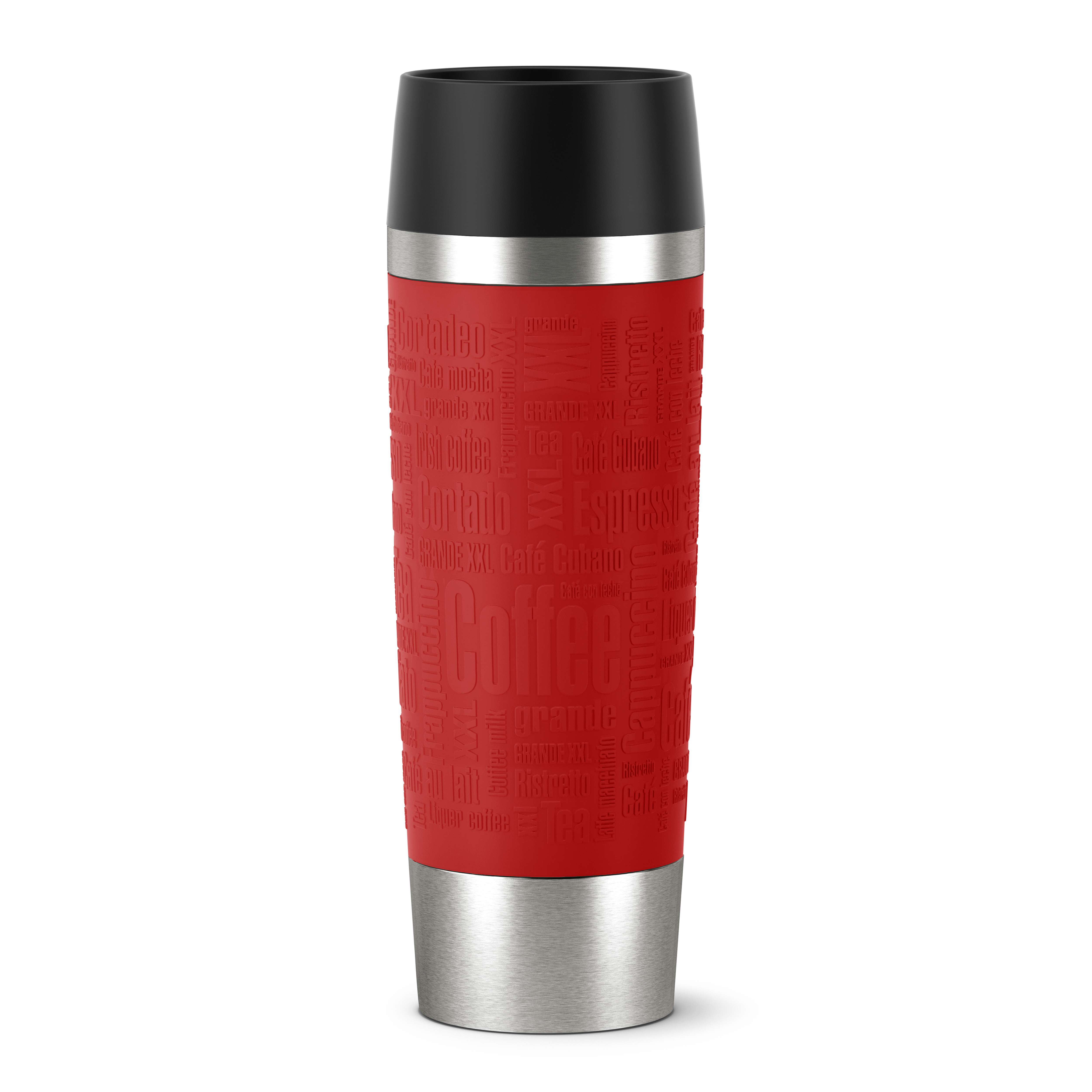 EMSA 515617 TRAVEL MUG GRANDE Isolierbecher 0,5L Rot