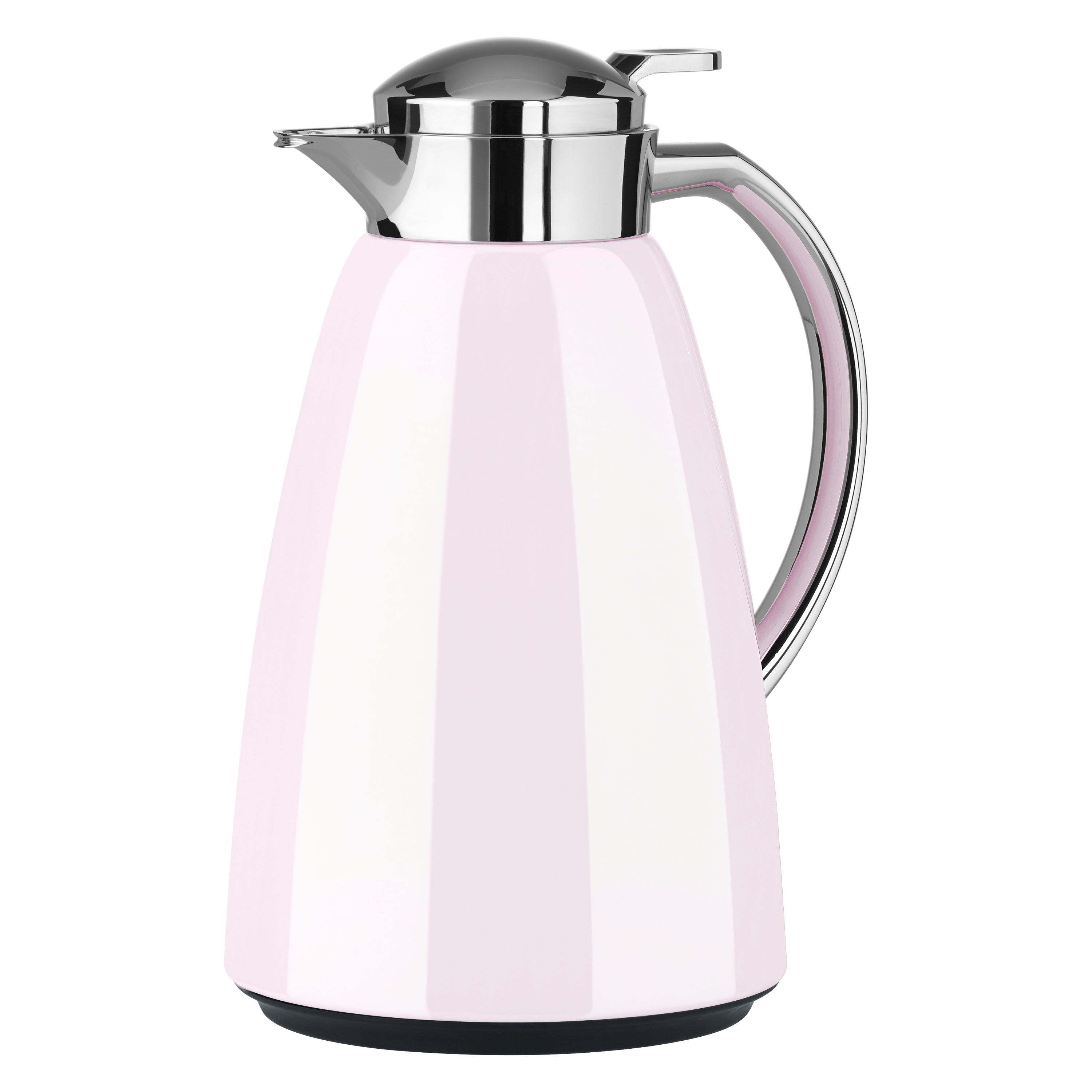 EMSA F4130200 CAMPO Isolierkanne Quick Tip 1,0 L Pastell-Rosa