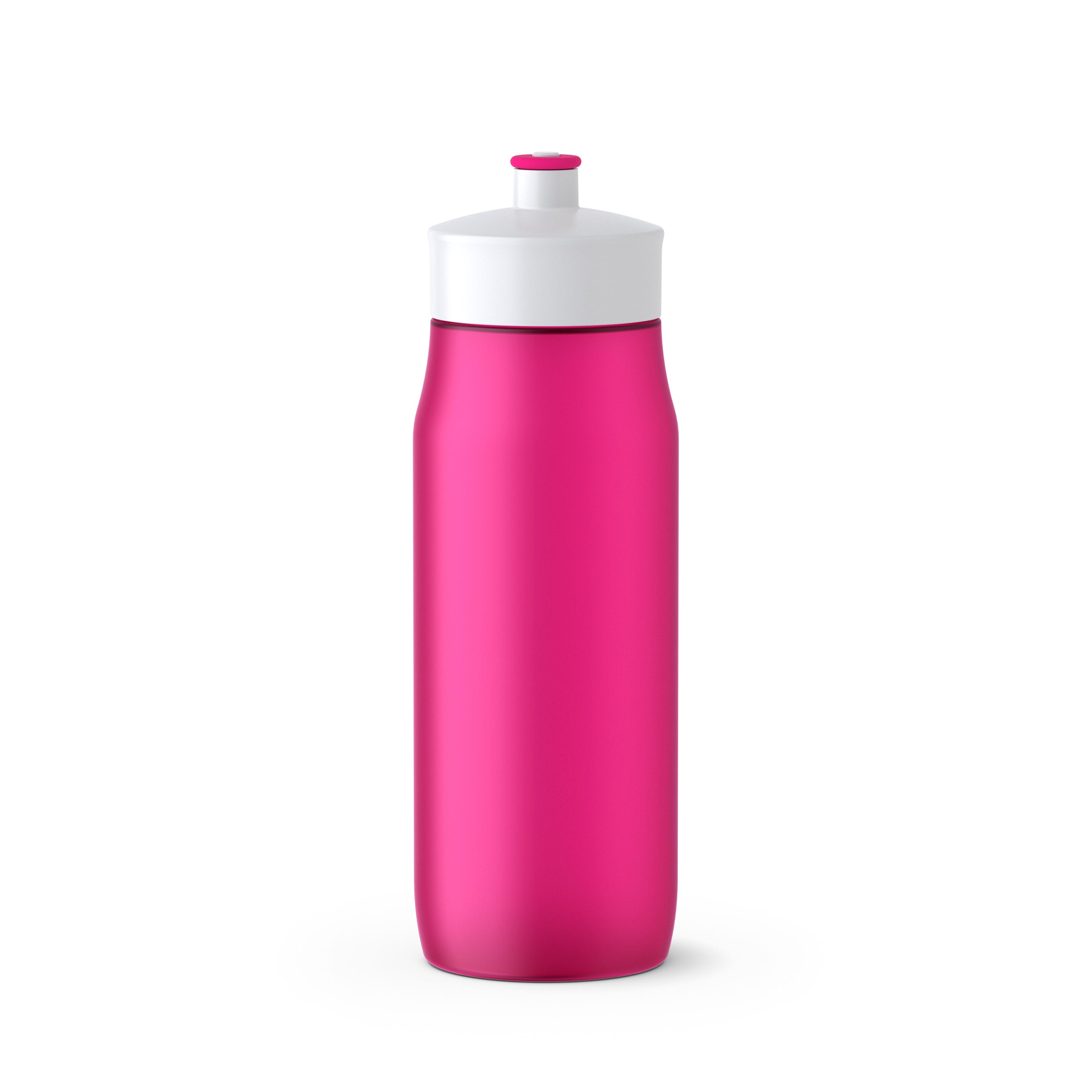 EMSA 518085 SQUEEZE Sport-Trinkflasche 0,6 L Pink