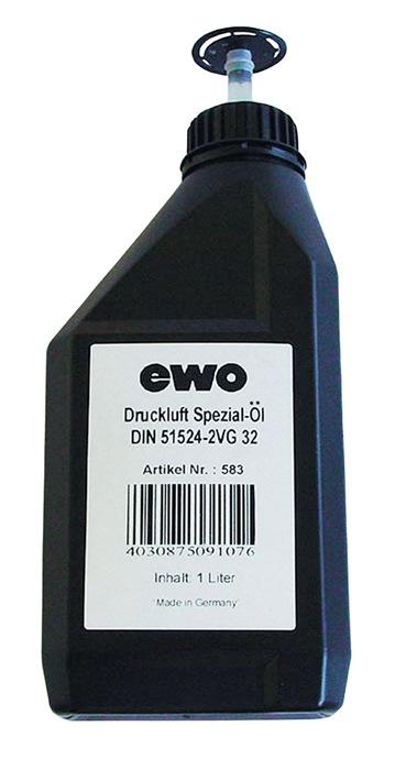 Druckluftspezialöl 1l Flasche EWO
