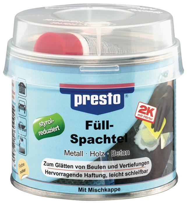 2K-Füllspachtel prestolith® plastic