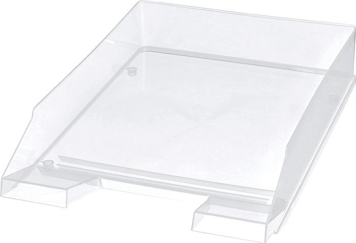 Briefablage DIN A4-C4 Ku.glasklar