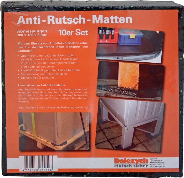 Antirutschmatte L12cm B18cm D8mm