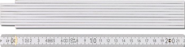 Gliedermaßstab 9072 L.2m B.16mm mm/cm EG