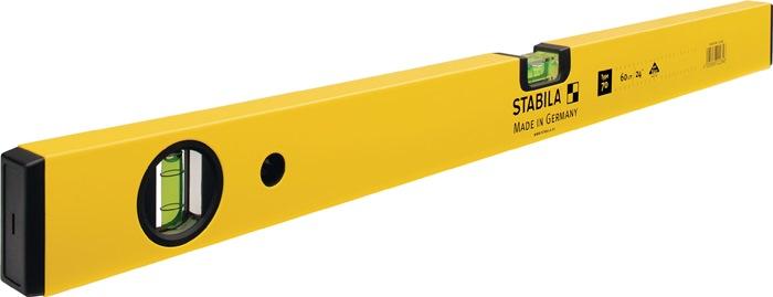 Wasserwaage 70 100cm Alu.gelb ± 0,5 mm/m
