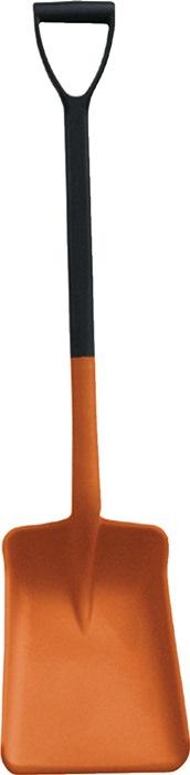 Allzweckschaufel PP orange Blattmaß