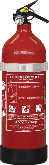 Pulverfeuerlöscher 4757 4757 2kg