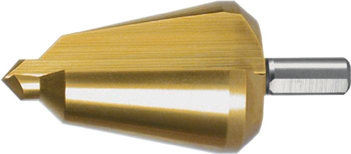 Blechschälbohrer Bohrber.24-40mm HSS TiN