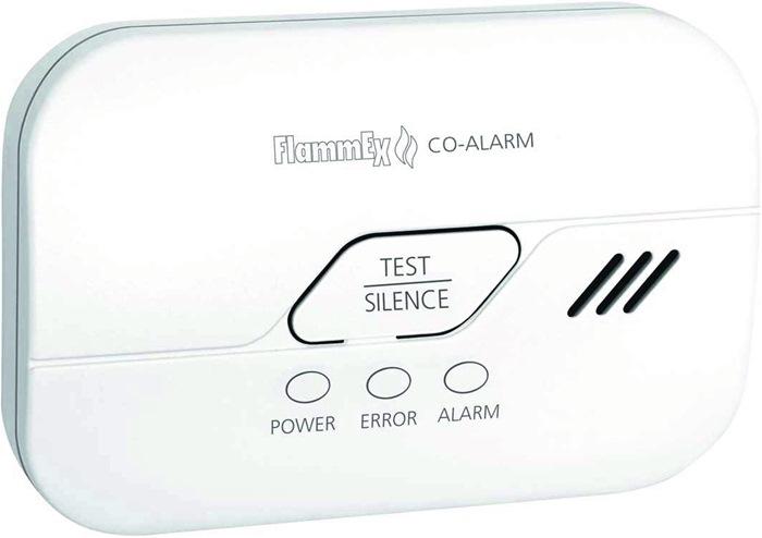 CO-Melder FMG 4313 H.80mm weiß 85 dB/1m