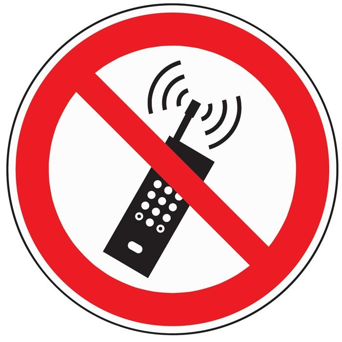 Folie Mobilfunk verbot. D200mm