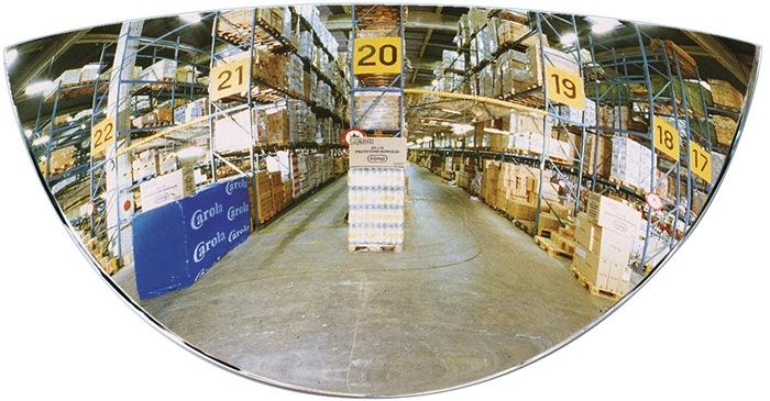 Gabelstaplerspiegel H128xB258mm 180 Grad